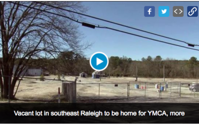 YMCA to build branch in Southeast Raleigh